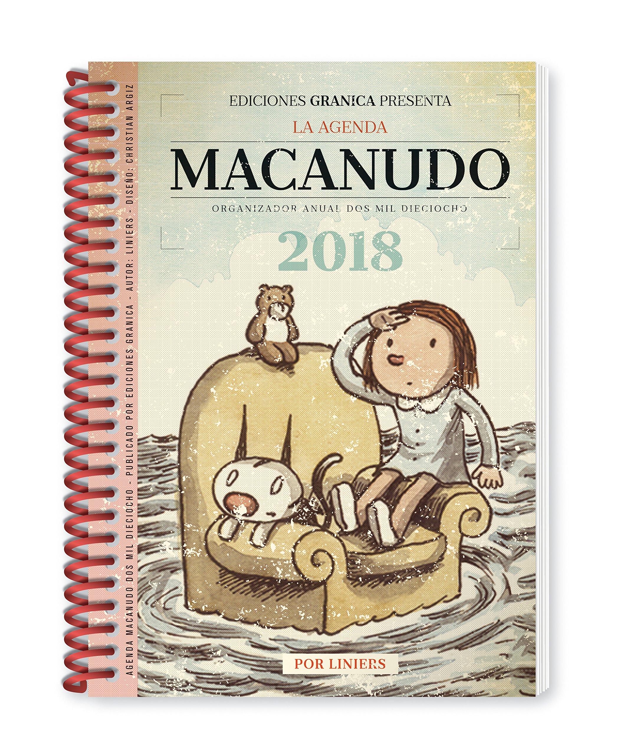 Macanudo 2018 Agenda anillada - Enriqueta: Liniers ...