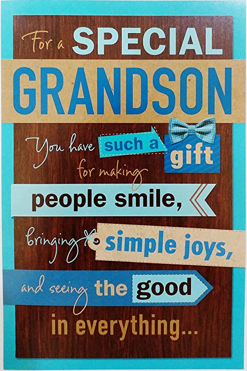 Amazon For A Special Grandson