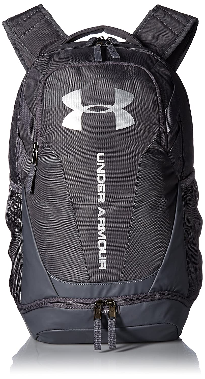 Under Armour Mens  Womens Hustle Water Resistant Backpack Bag