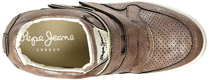 77450b7e1f8 Pepe Jeans New Bacton Tenis Casual para Mujer  Amazon.com.mx  Ropa ...