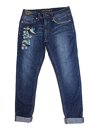 6f73e2c6fb8 Vigoss Girl s The Jagger Ankle Skinny Super Stretch Denim Jeans  (Hummingbird Blue