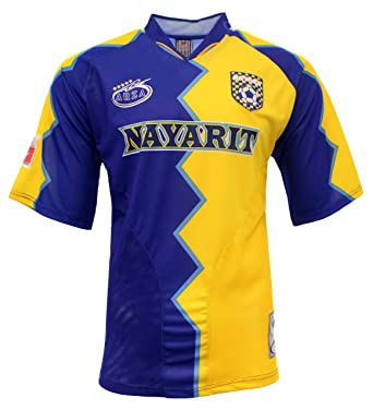 Jersey Design Nayarit Soccer Mexico Blue-yellow Amazon Color com Clothing Arza