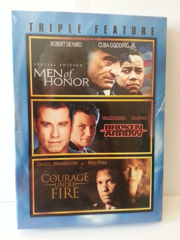 Amazon com: Men of Honor, Broken Arrow, Courage Under Fire