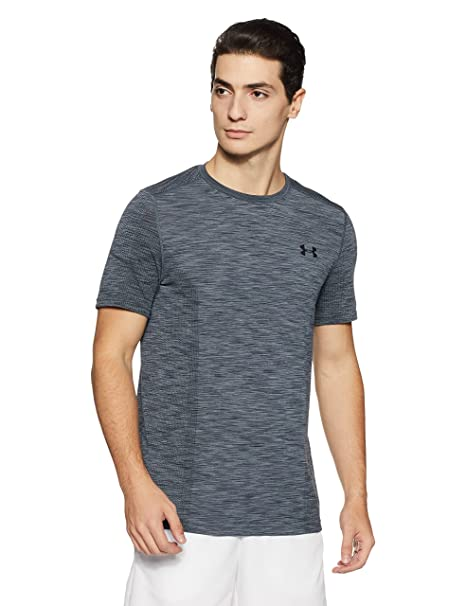 dfc85ee1541 Under Armour Men's Threadborne Seamless T-Shirt, Graphite /Black, XXX-Large