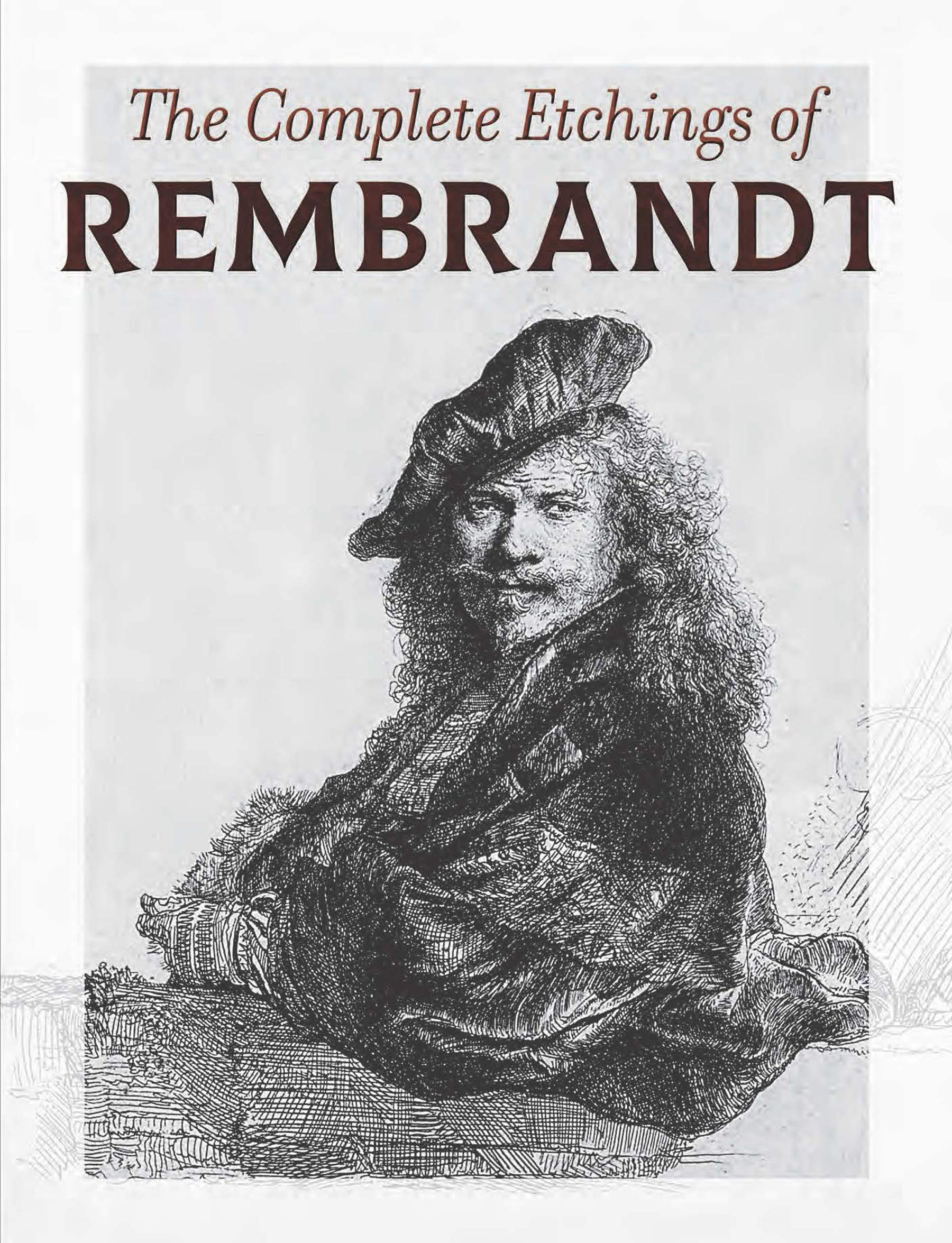 etchings and dry points by rembrandt van rijn