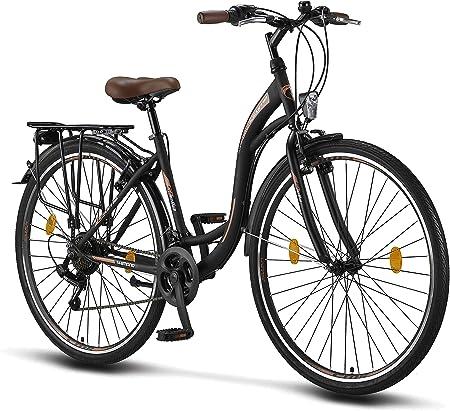 Licorne Bike Stella De 28 Pulgadas Bicicleta Paseo Bicicleta Para Mujer Desde 160 Cm Luz De Bicicleta Cambio De Velocidad Shimano 21 Bicicleta Urbana Para Mujer Bicicleta Para Mujer Amazon Es Deportes Y