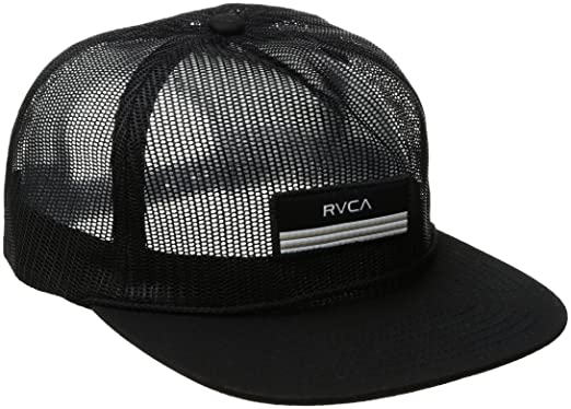 big sale 92f6c 074ad RVCA Men s Merica Trucker Hat, Black, One Size