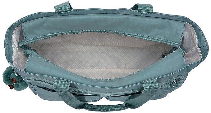 Amazon.com: Kipling Bilbao Solid bolsa Bag, Verde, talla ...
