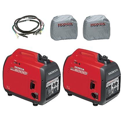 Amazon.com: Honda 2-Piece eu2000i Generador de 2000 W, 2 ...