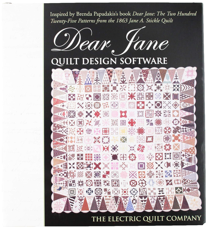 EZ Quilting Dear Jane Schablone aus Acryl