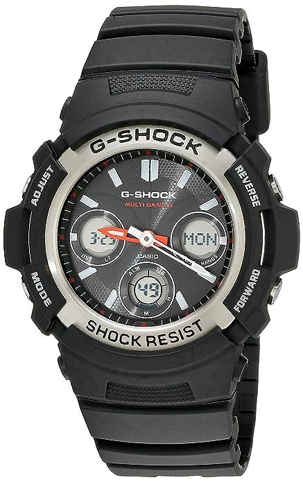 Casio AWGM100-1A - Reloj (Reloj de pulsera, Resina, Negro, Acero