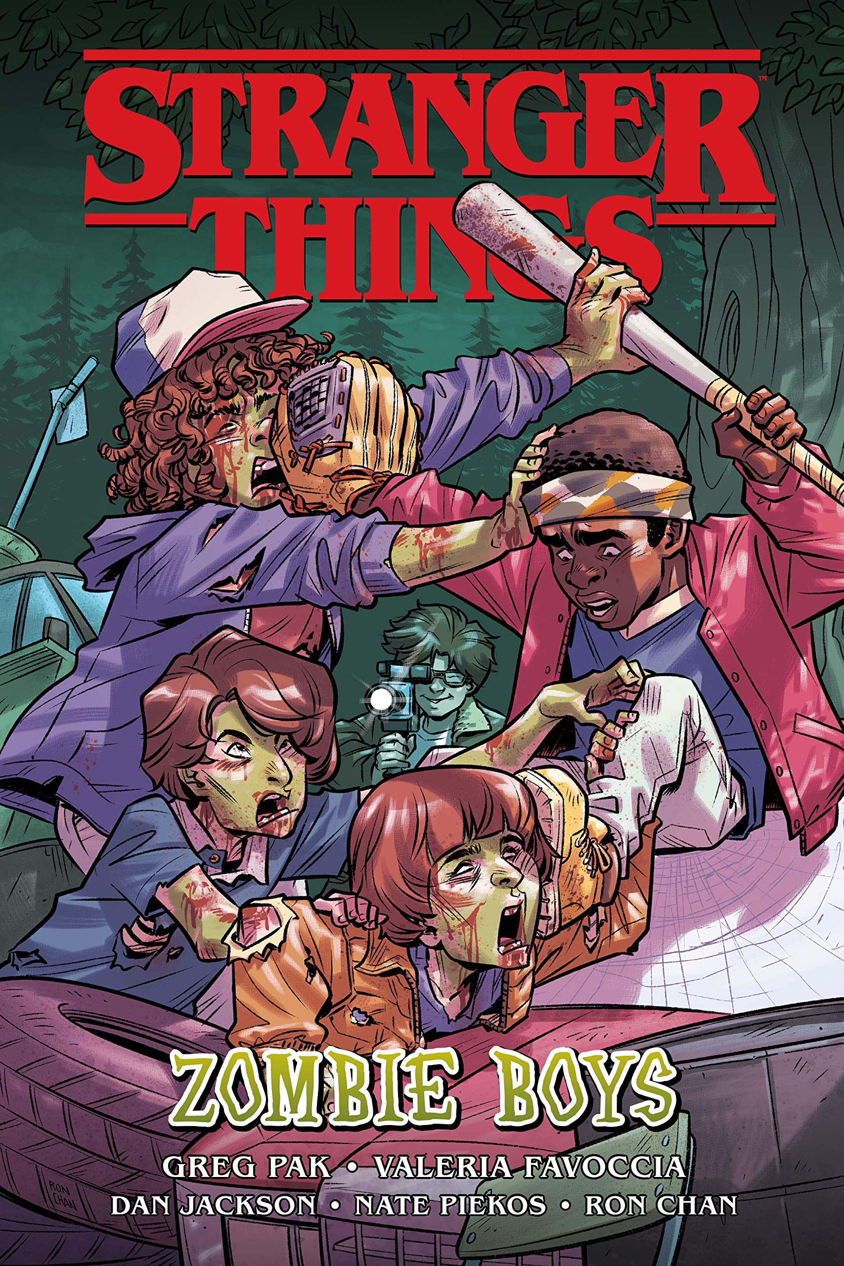 Stranger Things: Zombie Boys (Graphic Novel): Pak, Greg, Favoccia ...