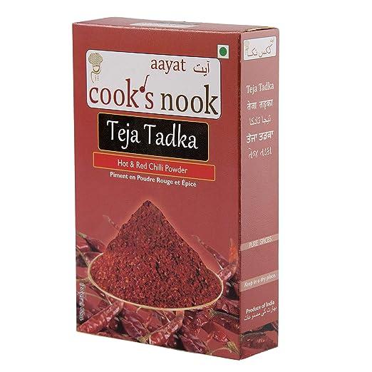 Cook's Nook Teza Tadka Chilli Powder (100gm)