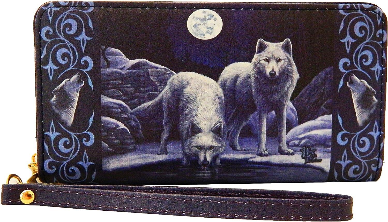 Wolf Warriors Of Winter Lisa Parker Key Chain Coin Purse