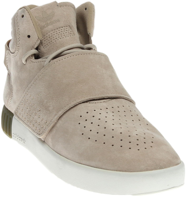 adidas Originals Women's Tubular Invader Strap W Fashion Sneaker B01M2V77HU 6 B(M) US|Sand