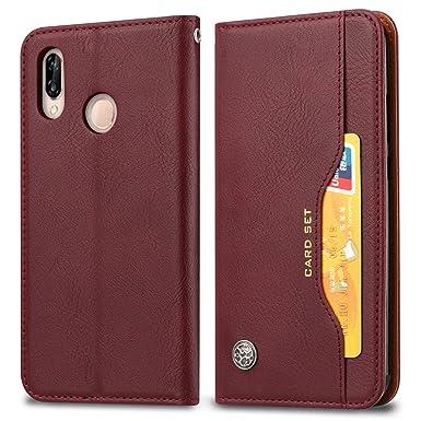 Amazon.com: Futanwei - Funda de piel con tapa para Huawei Y9 ...