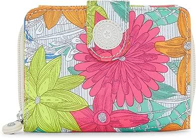 Kipling New Money Wallet, Billetera para Mujer, Gris