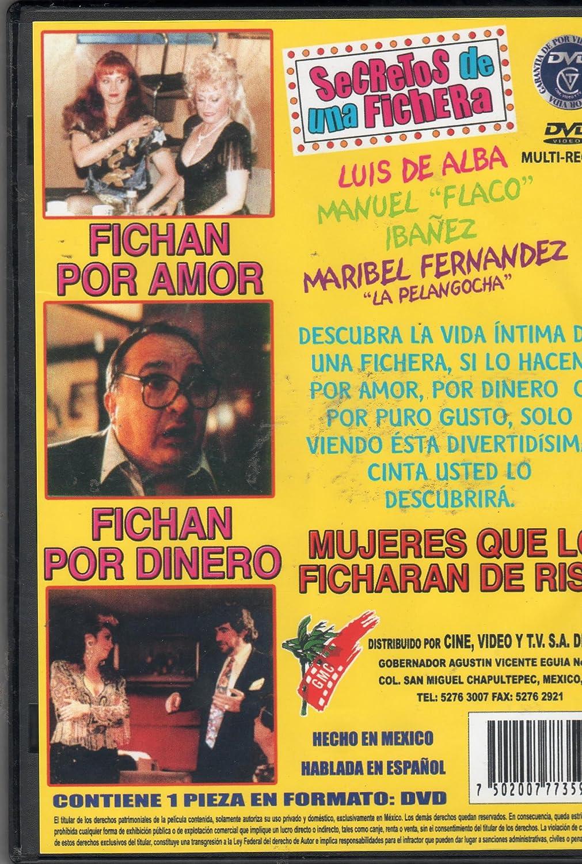 Amazon.com: Secretos De Una Fichera [Maribel Fernandez & Luis De Alba][ntsc/region 1 and 4 Dvd. Import - Latin America].: Movies & TV
