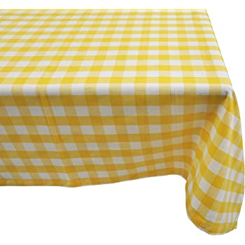 Charmant Yourtablecloth 100% Cotton Checkered Buffalo Plaid Tablecloth U2013for Home,  Restaurants, Cafés U2013 Be It For Everyday Dinner Picnic Or Occasions Like ...
