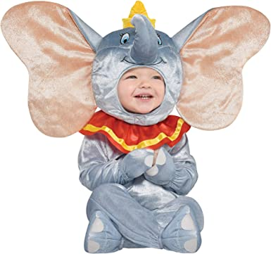 Party City Dumbo Disfraz De Halloween Para Bebés Incluye Accesorios Clothing