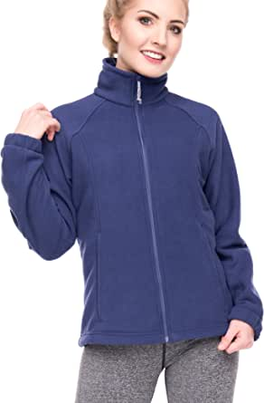 Women's Full-Zip Polar Sport Fall Winter Spring Fleece Jacket