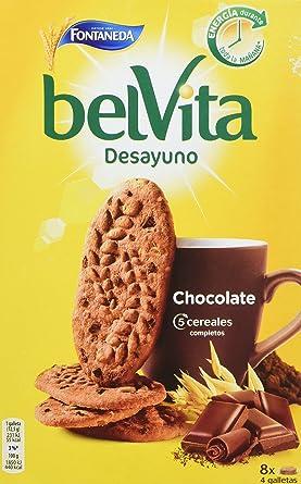 Fontaneda - Belvita - Galletas chocolate con cereales - 400 g