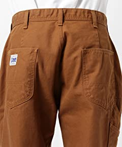 Lee Painter Pants 11-24-1890-141: Brown Duck