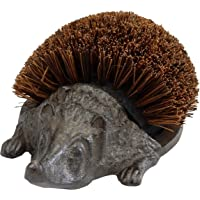 Victorian Trading Iron Hans The Hedgehog Boot Brush - Outdoor Shoe Cleaner