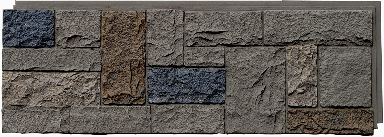 NextStone Castle Rock Panel Tudor Gray 16.12 Sq. Ft. Per Box 4 Panels Per Box