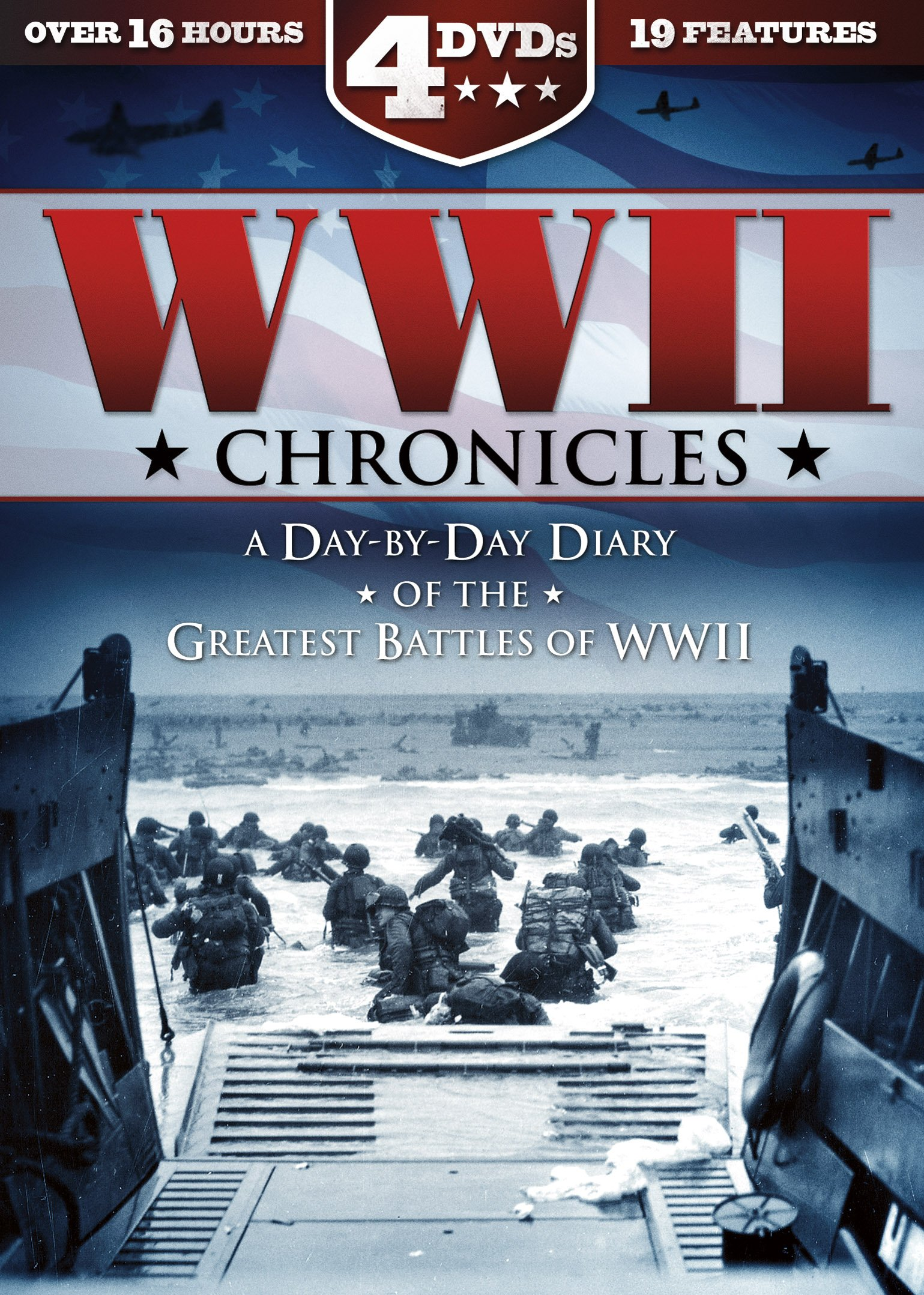 DVD : Wwii Chronicles: A Day-by-day Diary (Full Frame, Boxed Set, Slim Pack, Download Insert, 4PC)