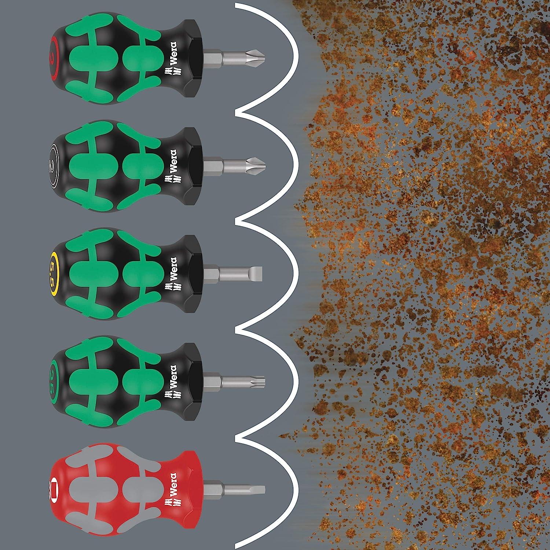 Wera 05008841001 335 Stubby Tournevis /à fente 0.8 x 4 x 24.5 mm