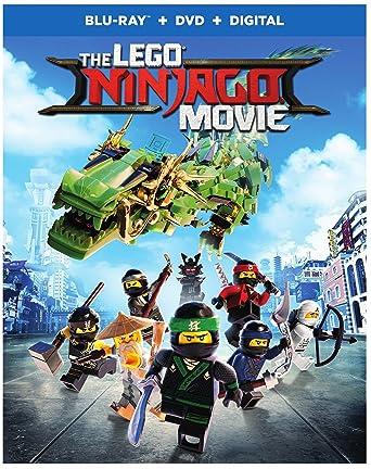 Amazon.com: Lego Ninjago Movie, The (BD) [Blu-ray]: Dan Lin, Jill ...