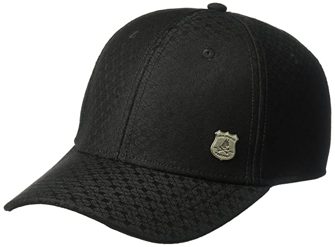 Nick Graham Mens Einstein Suiting Baseball Cap Space Black