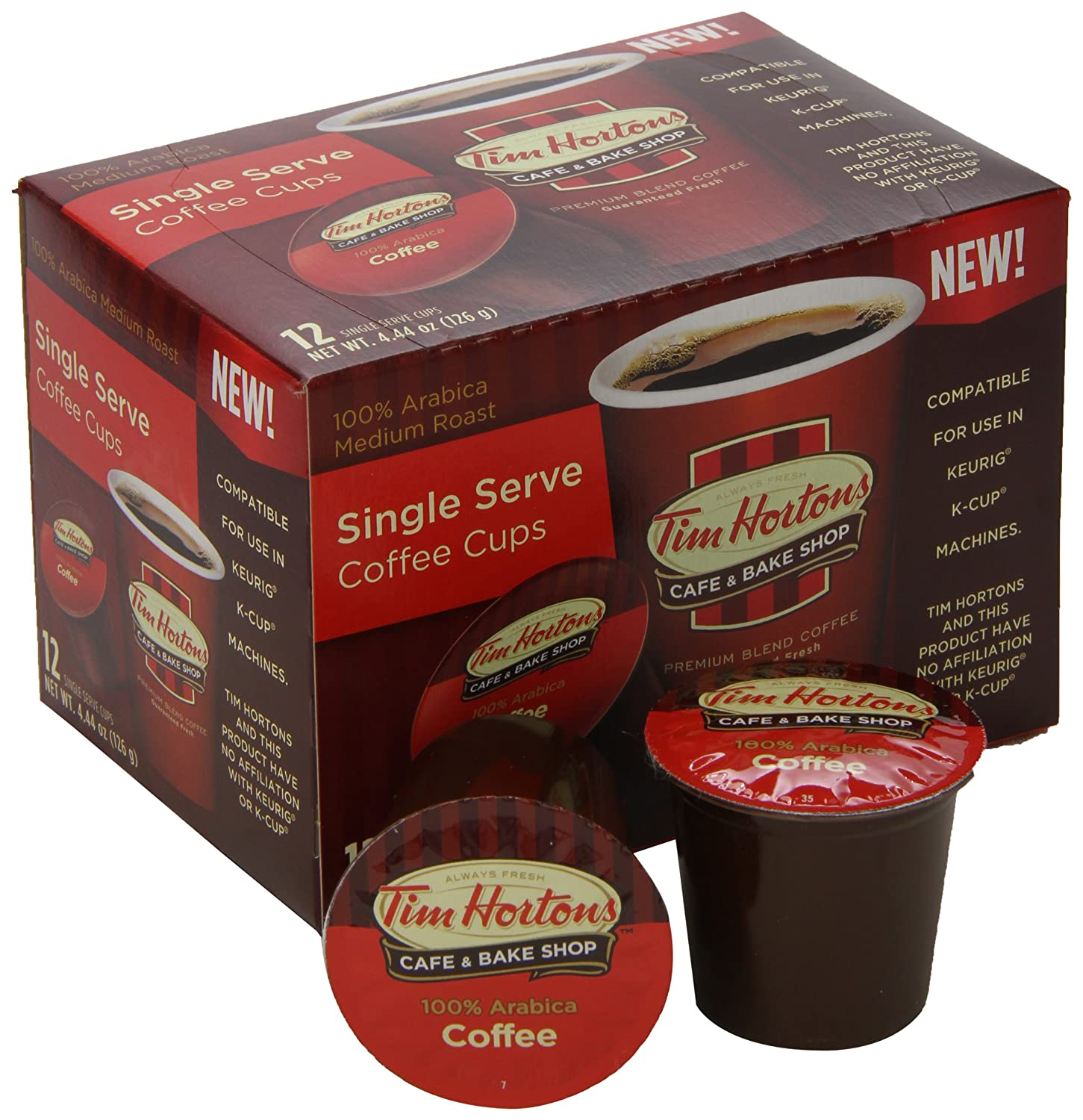 tim single serve coffee cups original blend 12 count pack of 6 amazoncom grocery u0026 gourmet food - K Cups Bulk