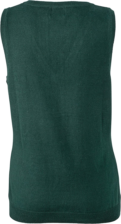 James /& Nicholson Jersey con Cuello de Pico para Mujer