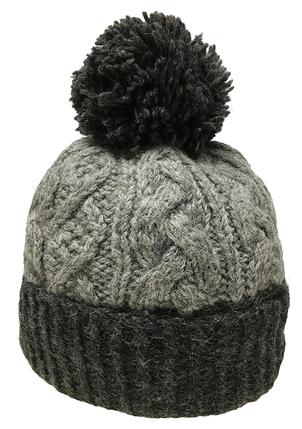 Nepal Hand Knit Sherpa Hat with Ear Flaps cd683e3aea89
