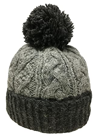 22f27a5d855 Nepal Hand Knit Sherpa Hat with Ear Flaps