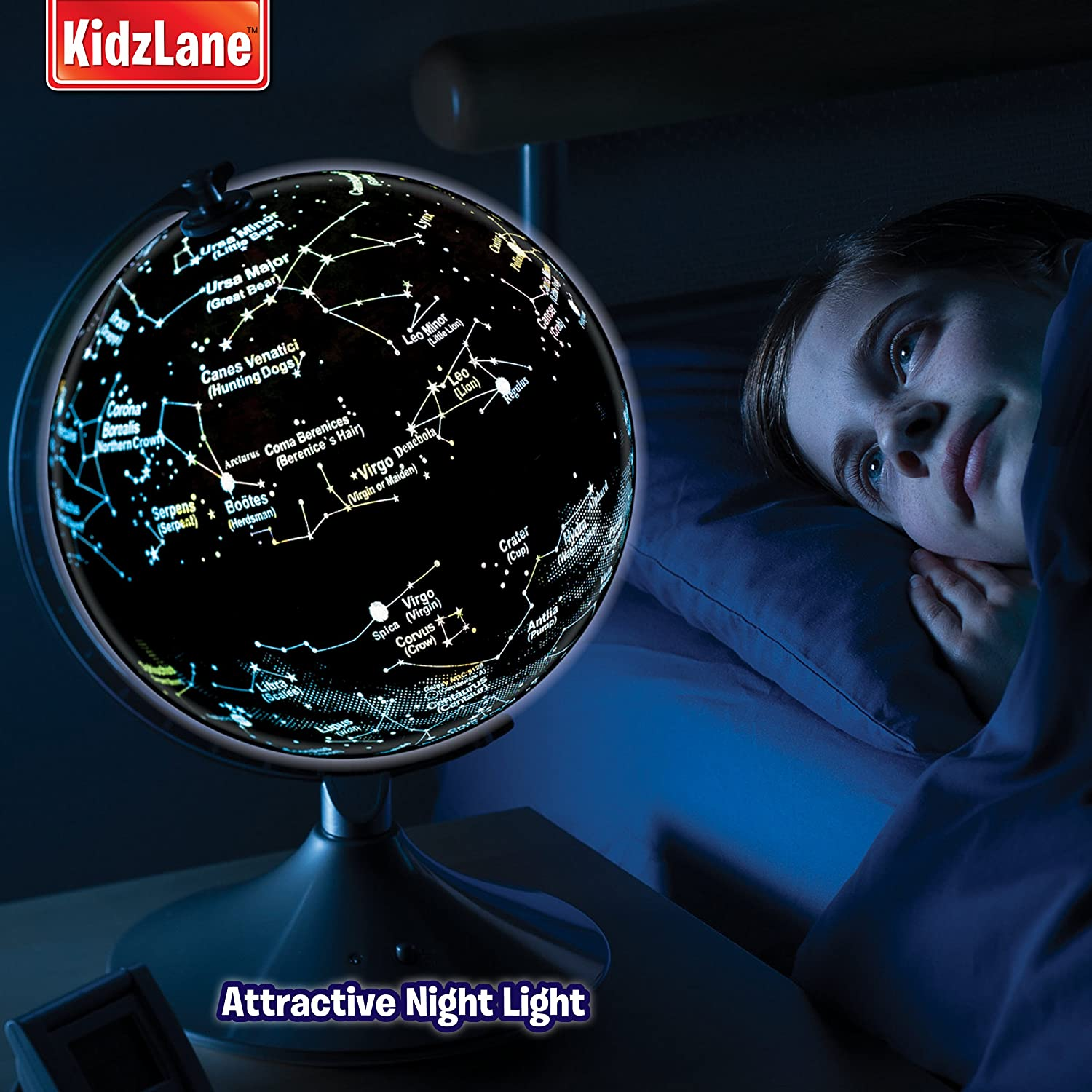 Buy interactive kids globe globe for kids world globe for kids 2 buy interactive kids globe globe for kids world globe for kids 2 in 1 globe earth and constellation online at low prices in india amazon publicscrutiny Images