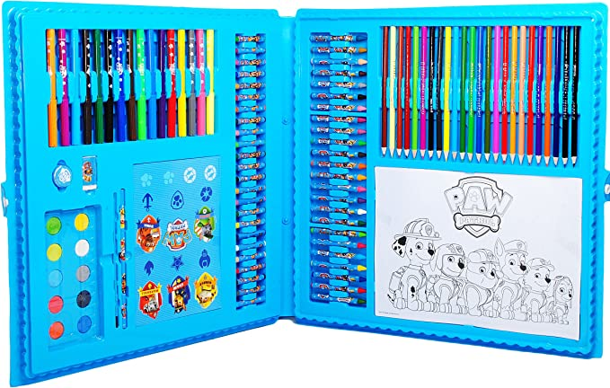 XXL Disney Frozen Malset Stifte Malen Zeichnen Farben Kinder Stempel Sticker Set