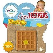 Little Toader Teething Toys, Waah'ffle Appe-Teethers