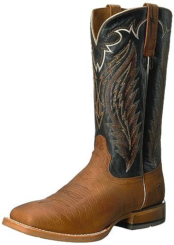 Ariat Men's Top Hand Boots Cattleguard Brown 7.5 D