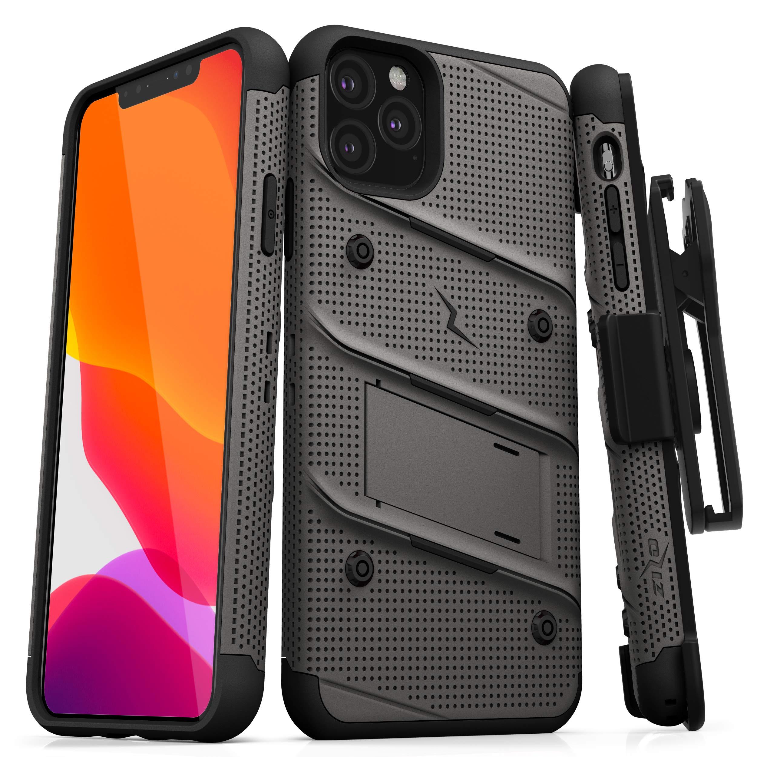 Funda + Vidrio Iphone 11 Pro Max Con Pie ZIZO [7X8SM1Z3]
