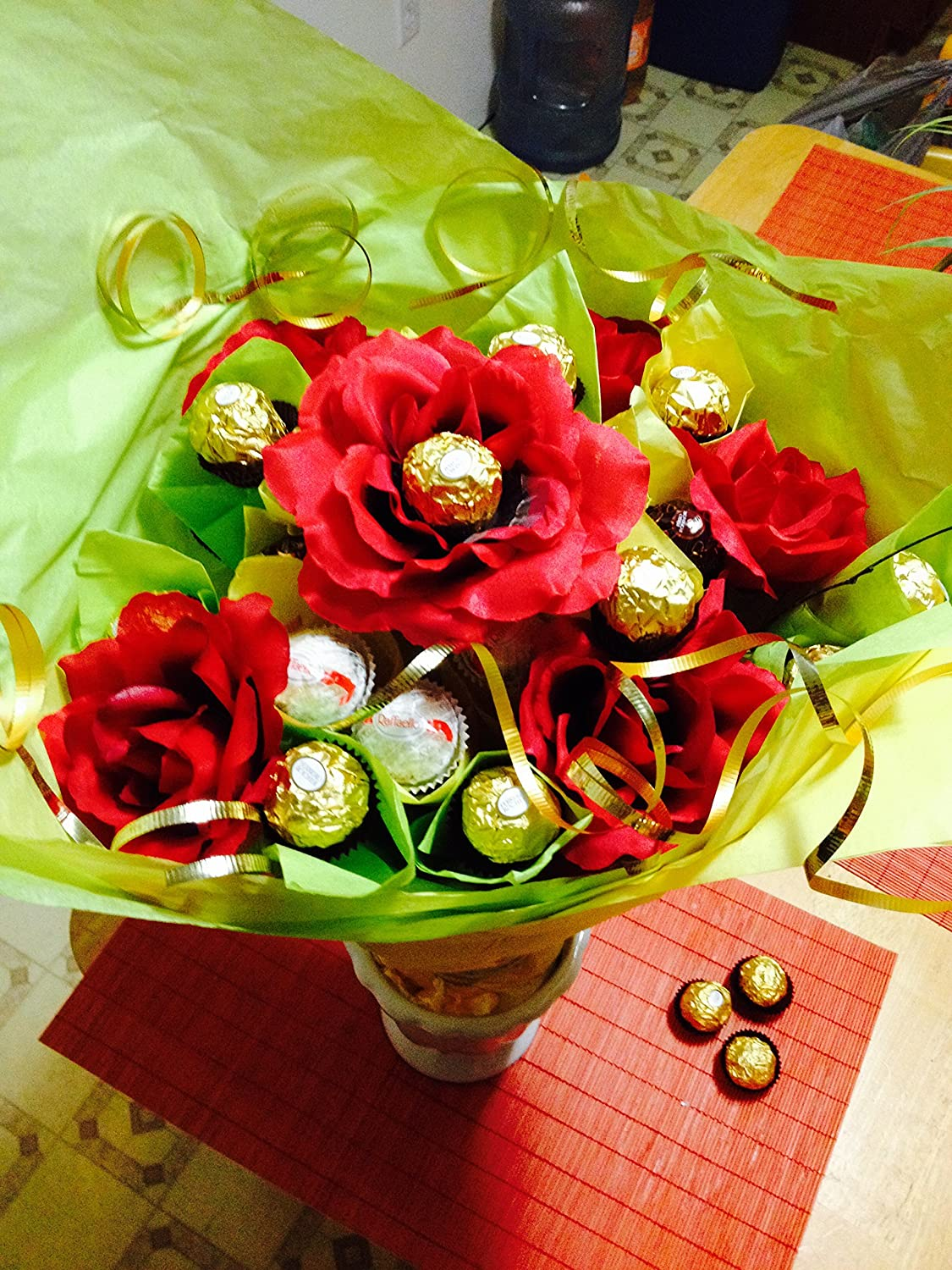 Amazon ferrero rocher flower bouquet everything else izmirmasajfo