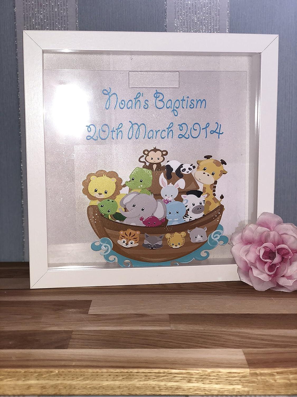 Print4you UK Limited Spardose Arche Noah Rahmen 25,4 cm 25 cm x 25 ...