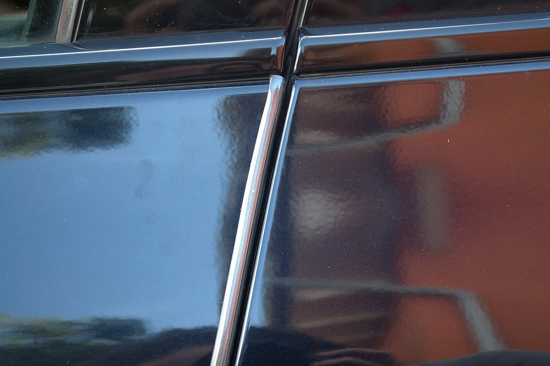 4 Meter T/ürkantenschutz Transparent klar durchsichtig T/ürrammschutz Gummi passend f/ür Ihr Fahrzeug