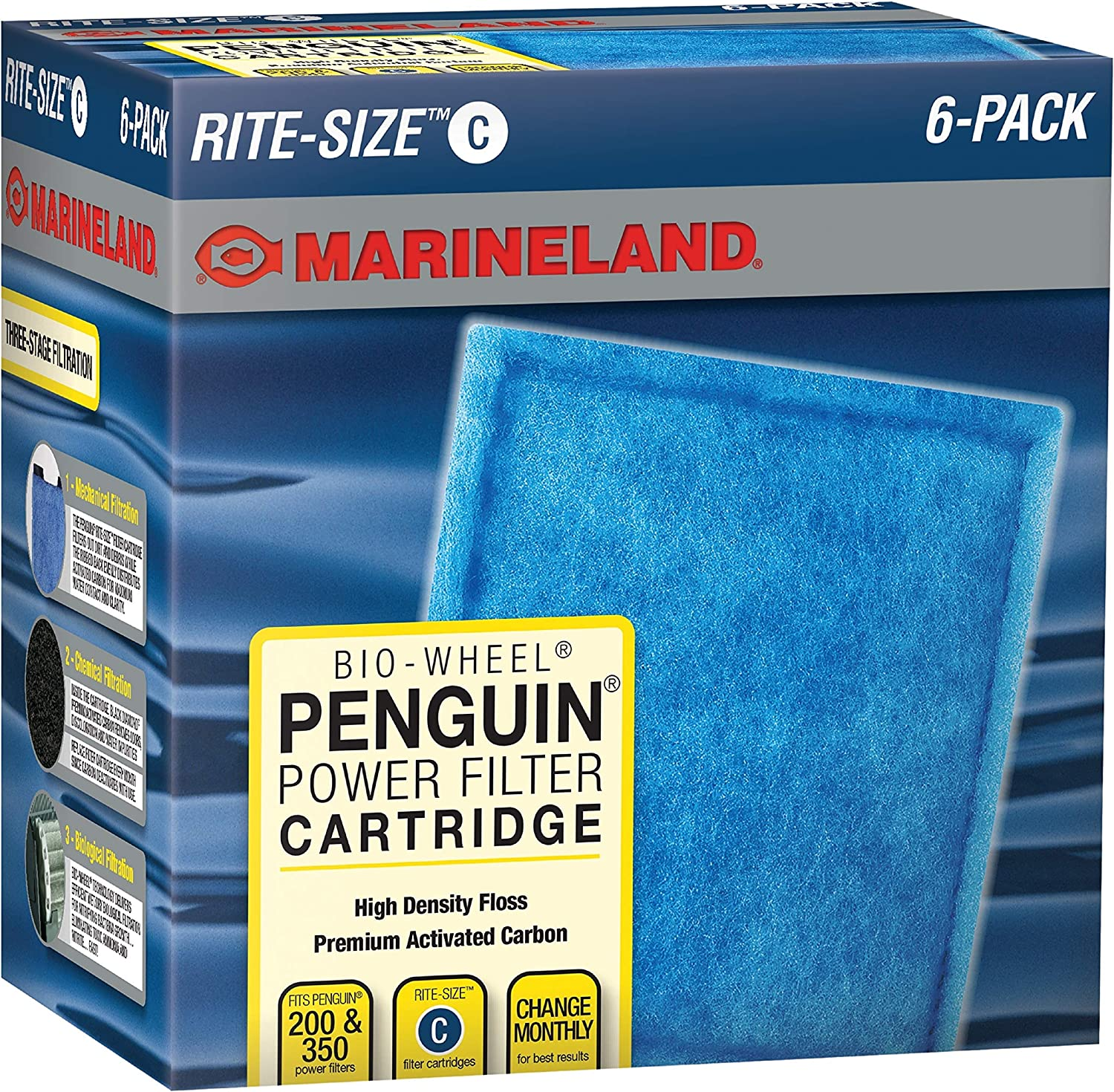 MarineLand Rite-Size Ready-to-Use Filter Cartridges