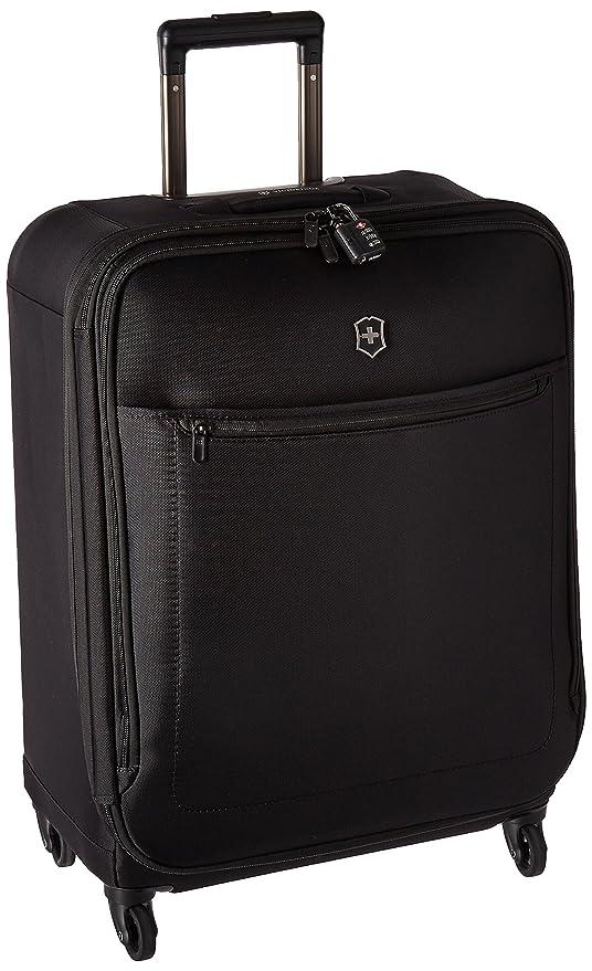 4497fae9c Victorinox Avolve 3.0, Medium, 4 Wheeled Trolley Case, in Black {75  litres}: Amazon.co.uk: Luggage