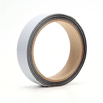"""3M SJ3000 3//4/"""" W x 5/' L Hook-and-Loop Black Reclosable Fastener Roll"""