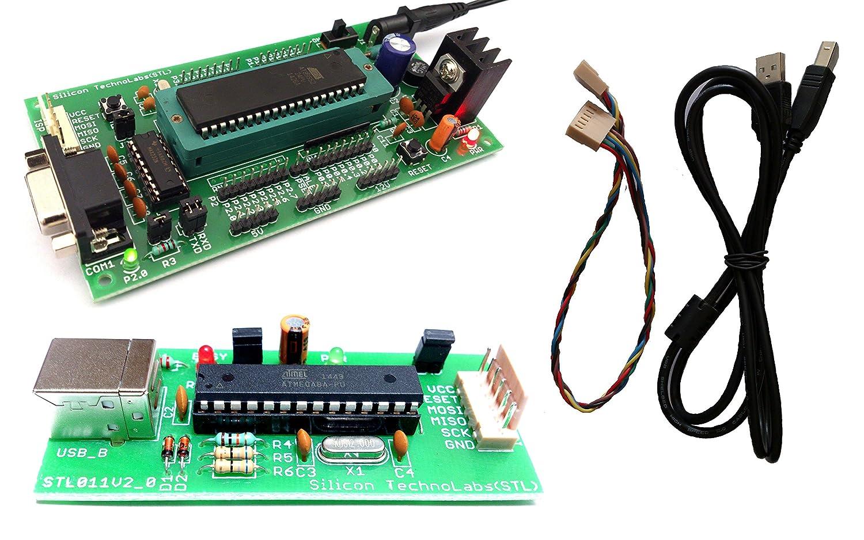 amazonin buy silicon technolabs atmel 8051 development board