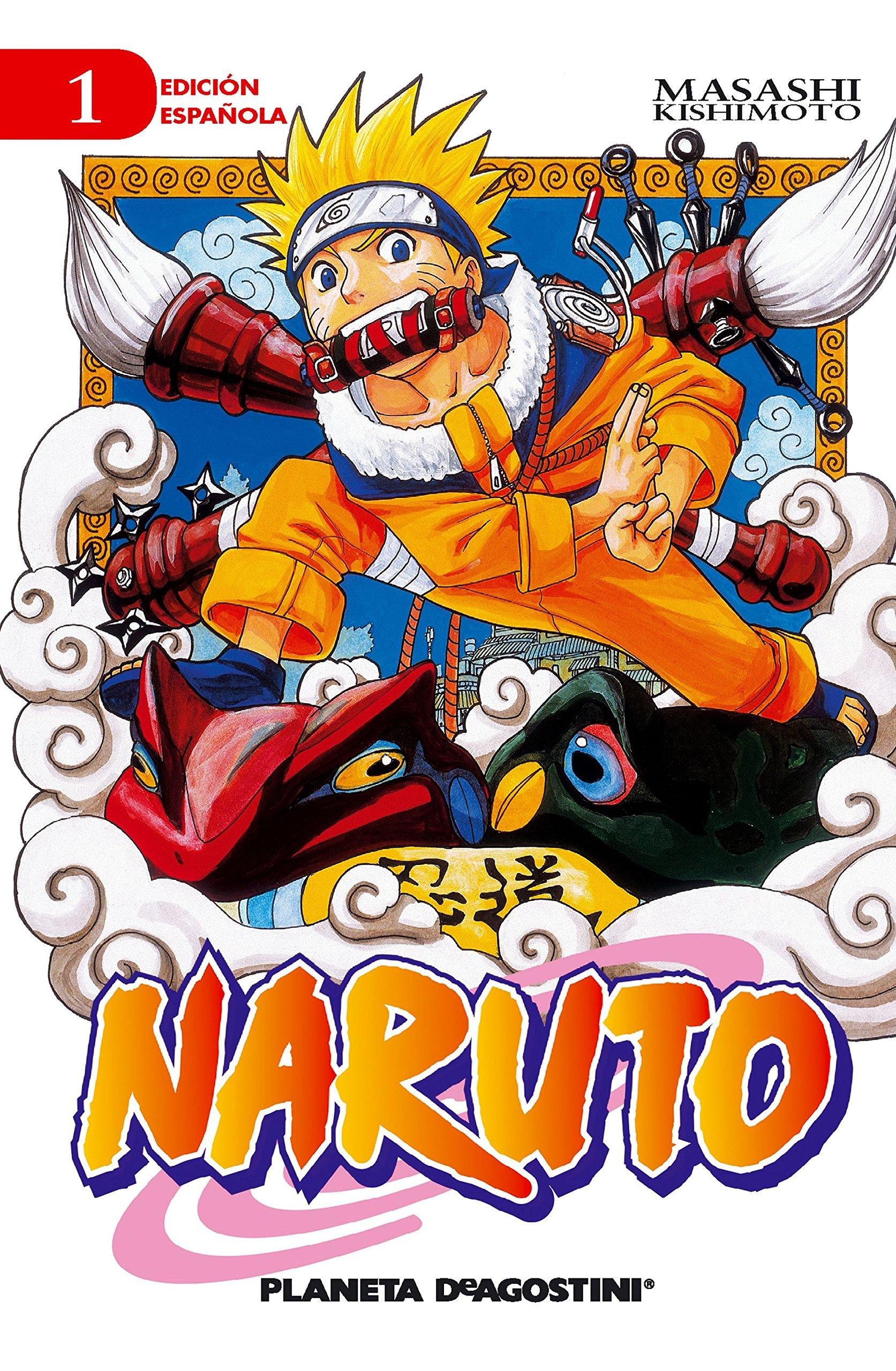 Naruto nº 01/72 (Manga Shonen): Amazon.es: Kishimoto, Masashi: Libros